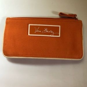 Orange card wallet